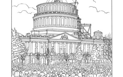 Free Lincoln Capitol Coloring