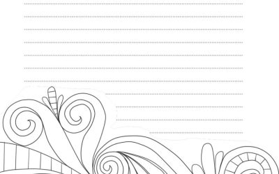Free Doodle Journal Coloring