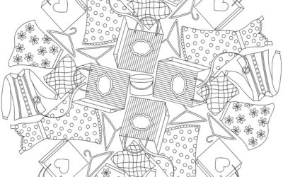 Free Clothing Coloring Page