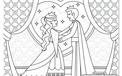 Free King & Queen Coloring
