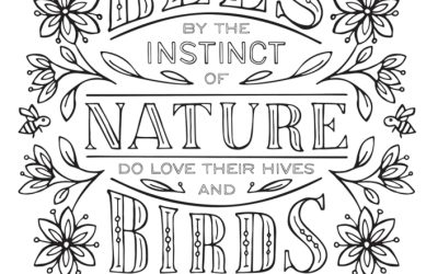 Free Nature Coloring Page