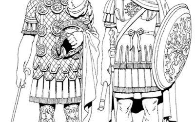 Free Gladiator Coloring
