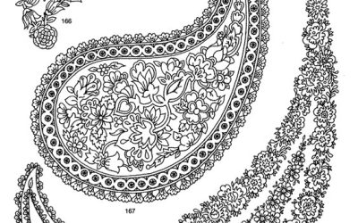 Free Paisley Coloring