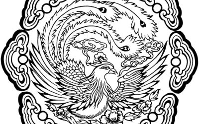 Free Bird Design Coloring