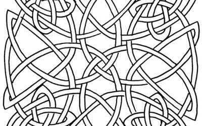 Free Celtic Design Coloring