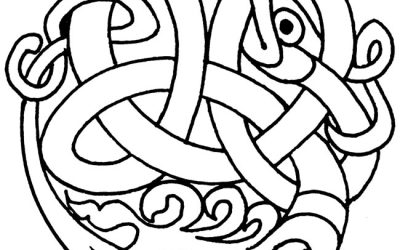 Free Celtic Knotwork Coloring