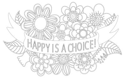 Happy is a Choice Free Coloring