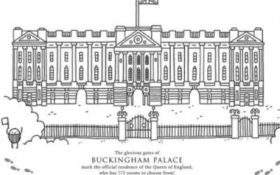 Free Buckingham Palace Coloring