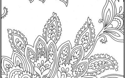 Free Pretty Paisley Pattern