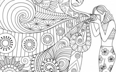 Free Kaleidoscope Coloring