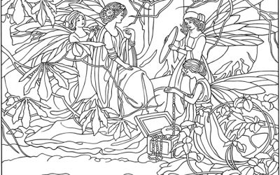 Free Fairies Coloring Page