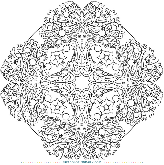 Fun & Free Pattern Coloring