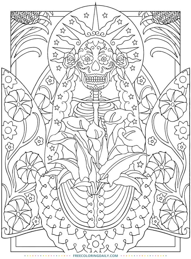 Ancient Design Coloring