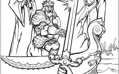Free Legend Coloring Page