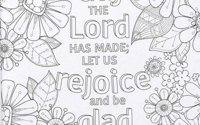 Free Scripture Coloring