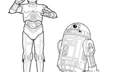 Free Star Wars Coloring – C3P0