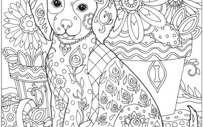 Free Puppy Dog Coloring Page