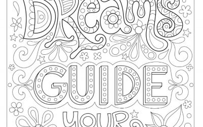 Free Inspiring Coloring Page