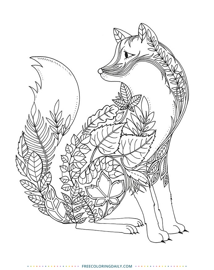 Free Animal Coloring Sheet