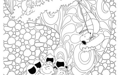 Free Peanuts Coloring Page
