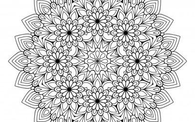Free Mandala Flower Coloring