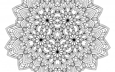 Free Gorgeous Mandala Coloring