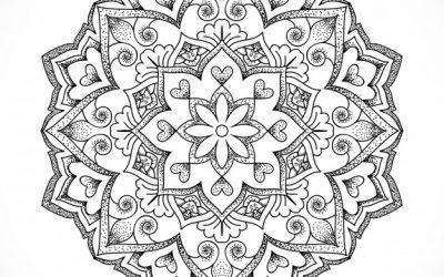 Amazing Free Coloring Mandala