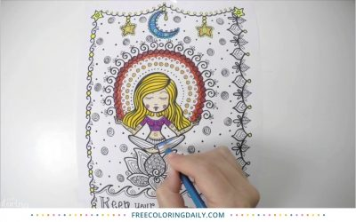 Coloring Time Lapse