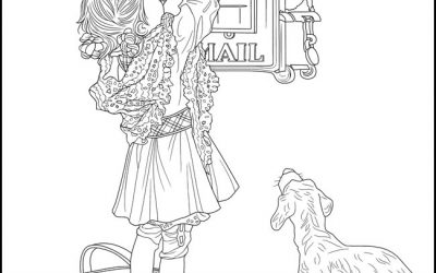 Free Letter to Santa Coloring Page
