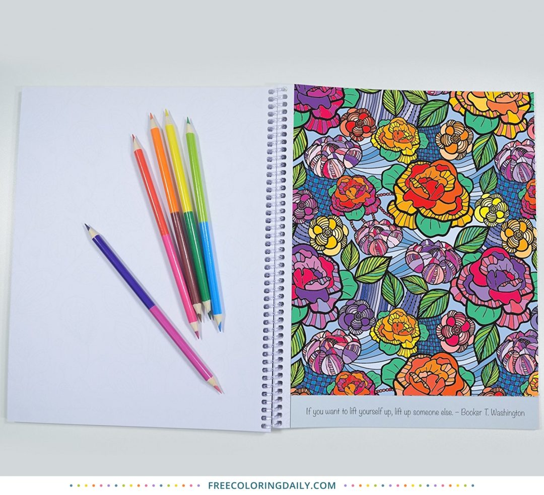 Color Your Day Adult Coloring Book