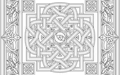 Free Ornamental Coloring Page