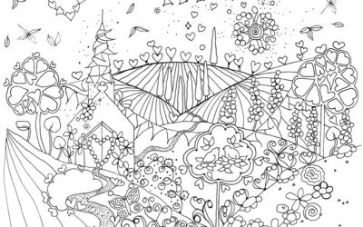 Happily Ever After Coloring FREE!