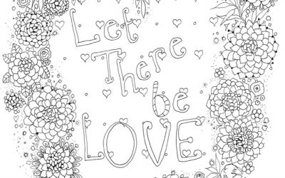 Free Love Quote Coloring