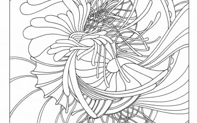 Free Pattern Coloring Page