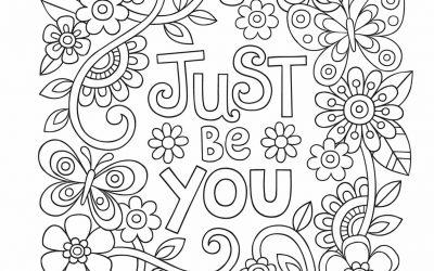 "Free ""Just Be You"" Quote"