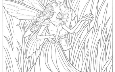 Free Fairy Coloring Page