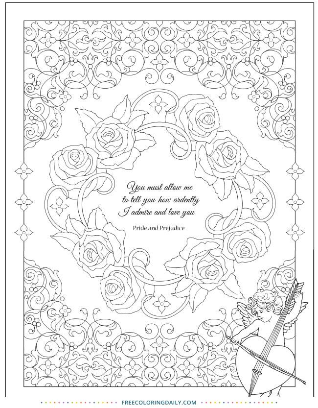 Free Jane Austen Coloring