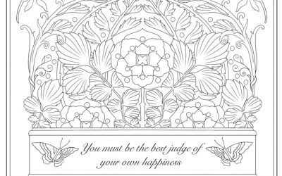 Free Fancy Quote Coloring