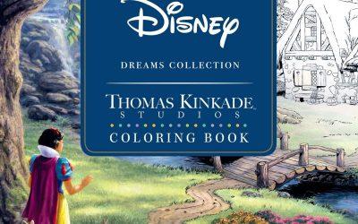 Disney Dreams Coloring Book