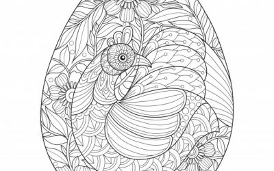 Free Chicken & Egg Coloring