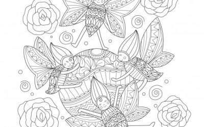 Free Happy Bugs Coloring