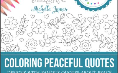 "My ""Coloring Peaceful Quotes"" Coloring Book"