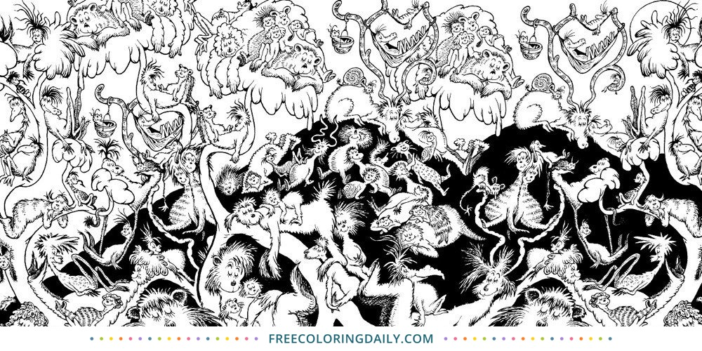 Free Dr. Seuss Coloring Page