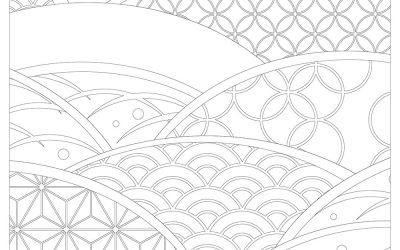 Free Pattern Waves Coloring