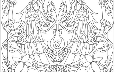 Free Fantastic Peacock Coloring Page