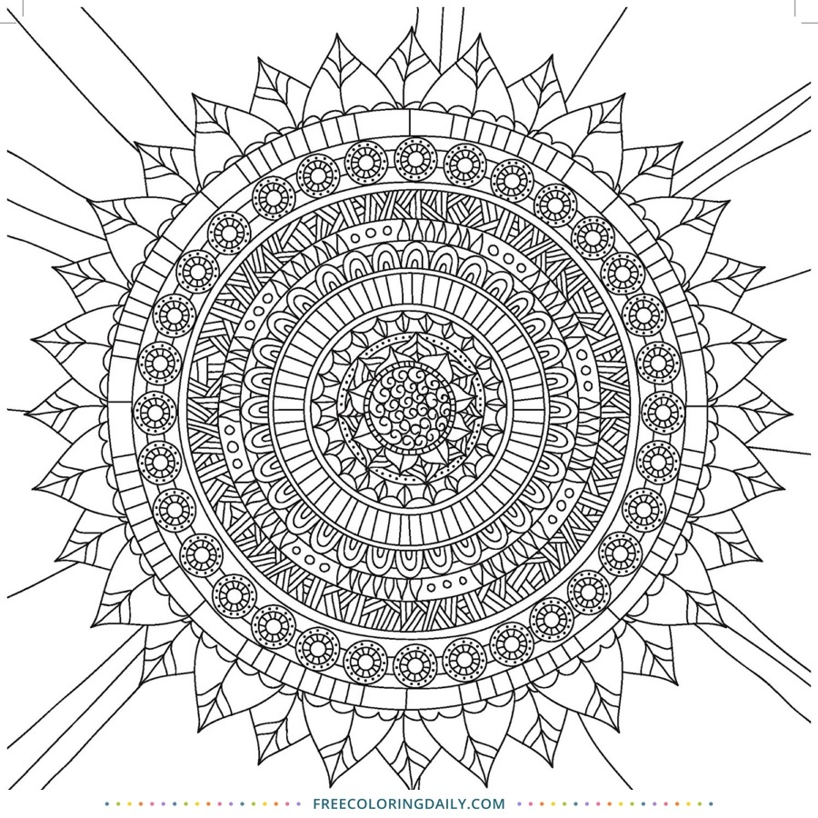 Free Native American Coloring