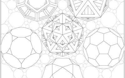 Geometric Shapes Free Coloring
