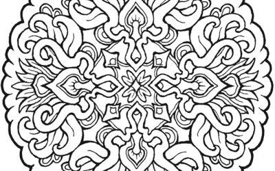 Amazing Free Mandala Coloring Sheet