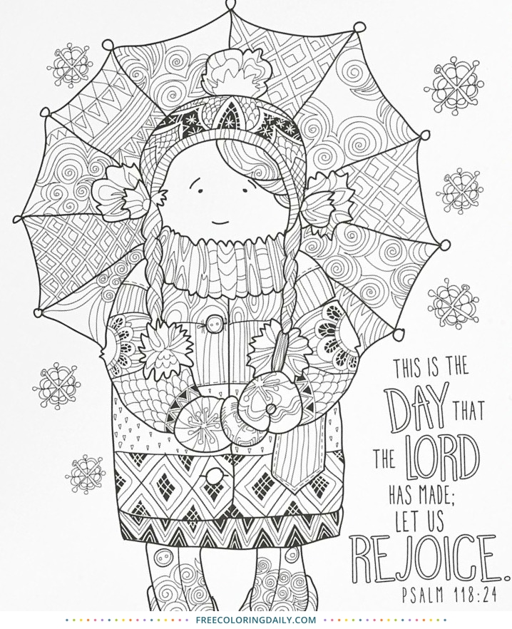 Free Sunday School Coloring Page