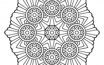 Free Amazing Mandala Coloring